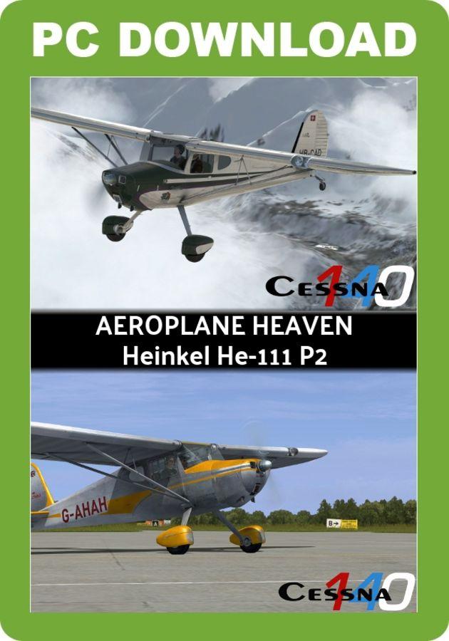 Just Flight - Aeroplane Heaven Cessna 140 for FSX & P3D v3/4 3 (NON PBR)