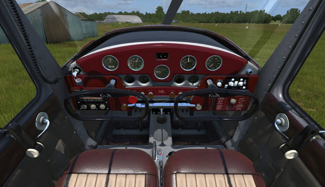 Aeroplane Heaven Cessna 140 for P3D v4.4+ (PBR)