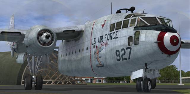 Aeroplane Heaven Fairchild C-119F - 'The Flying Boxcar'