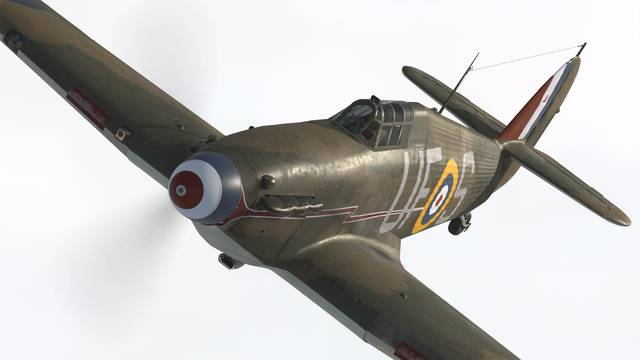 Aeroplane Heaven Hawker Hurricane Mk1 for P3D v4.4+ ( PBR)
