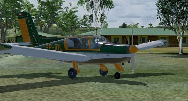Aeroplane Heaven Socata Rallye MS-893 for P3D v4.4+ (PBR)