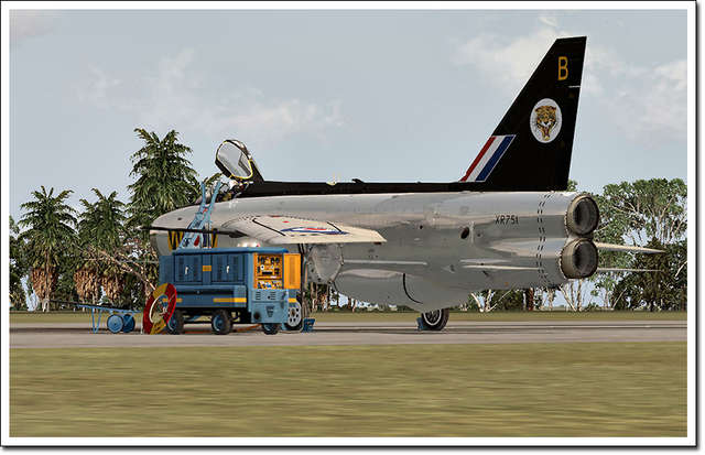 Aerosoft - English Electric Lightning F3