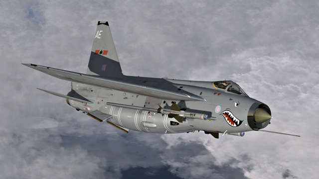 Aerosoft - English Electric Lightning F.6