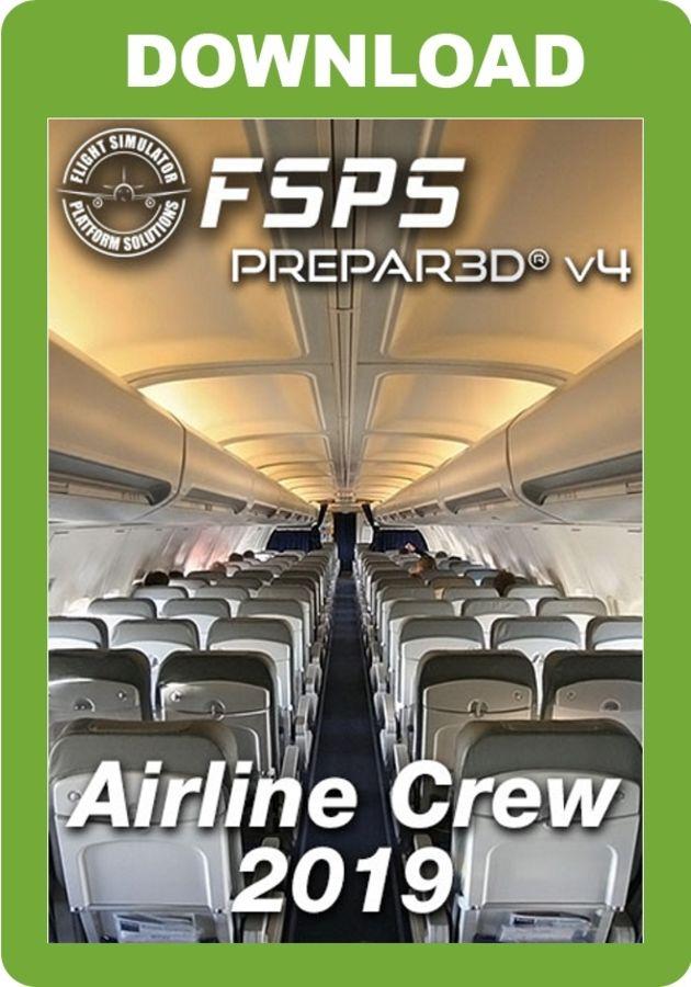 Just Flight - Airline Crew 2019