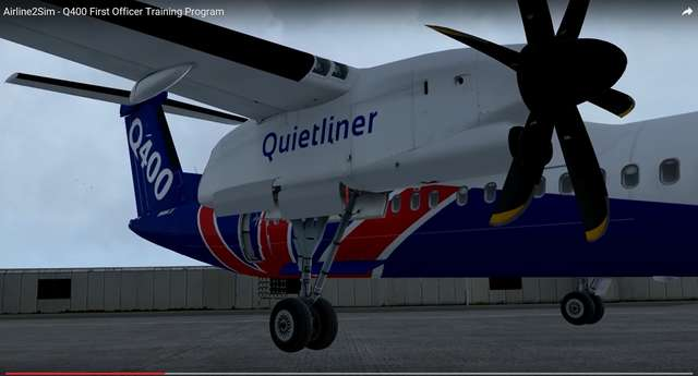 Airline2Sim Majestic Dash 8 Q400 First Officer