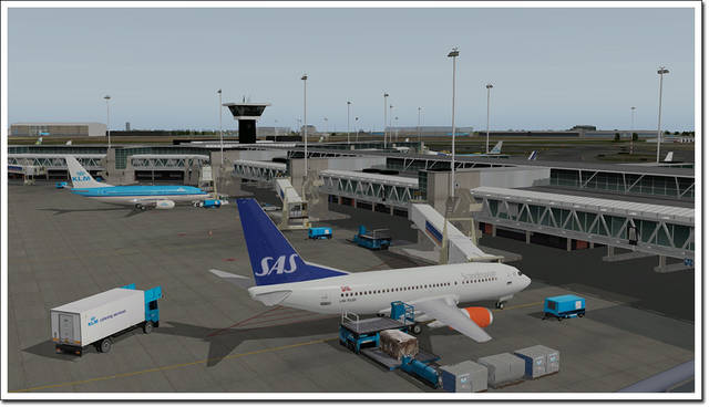 Airport Amsterdam XP