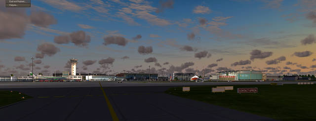 Airport Erfurt for P3D V4