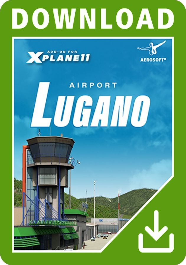 Just Flight - Airport Lugano XP11 (for X-Plane 11)