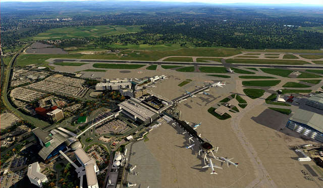 Just Flight - Airport Manchester XP (for X-Plane 10)