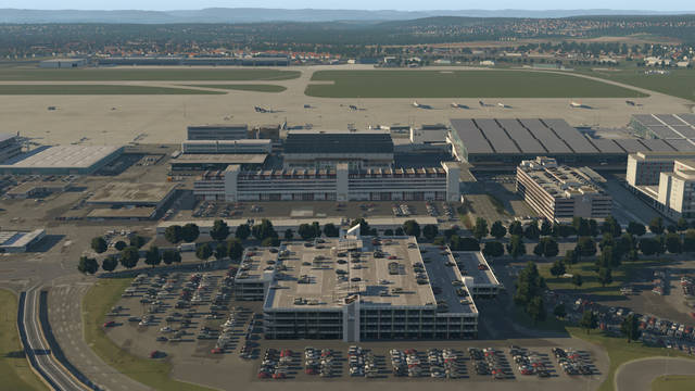 Airport Stuttgart XP