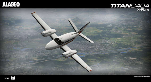 Alabeo C404 Titan (for X-Plane)