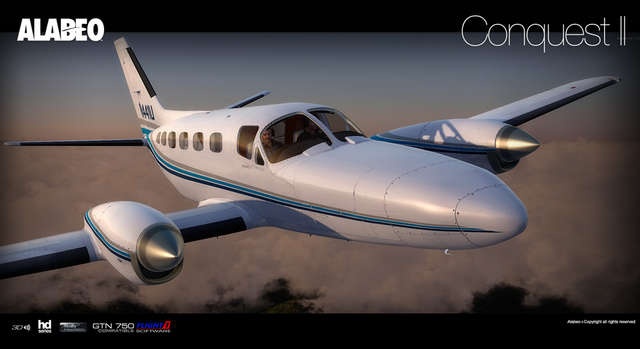 Alabeo C441 Conquest II (for FSX & P3D)