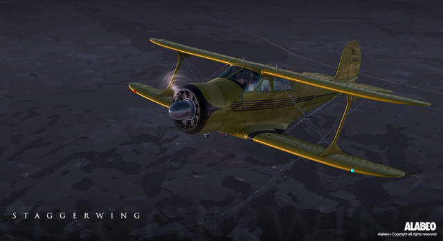Alabeo D-17 Staggerwing