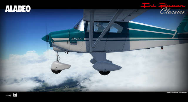 Alabeo PA-22 Tri-Pacer (for FSX & P3D)