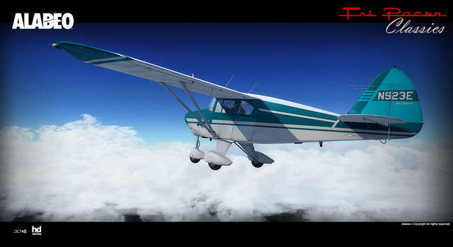 Just Flight - Alabeo PA-22 Tri-Pacer (for FSX & P3D)
