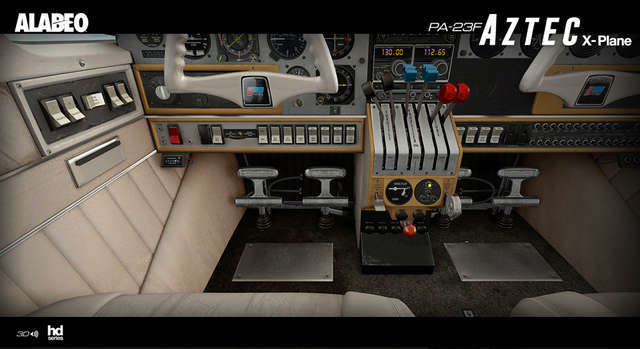 Alabeo PA-23 Aztec F 250 (for X-Plane)