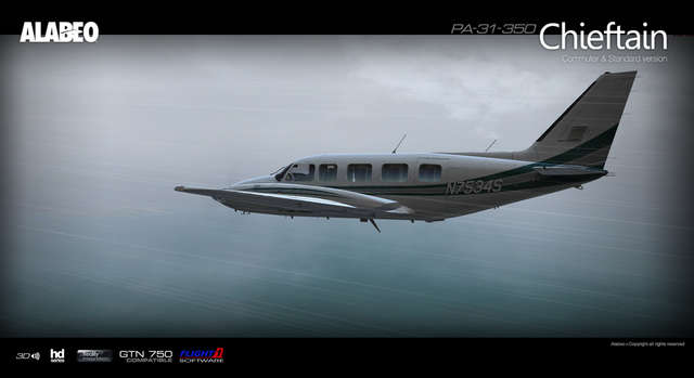 Alabeo PA31 Chieftain 350