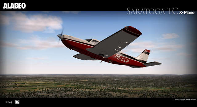 Alabeo PA32 Saratoga II TC (for X-Plane)