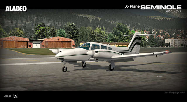 Alabeo PA-44 Seminole (for X-Plane)