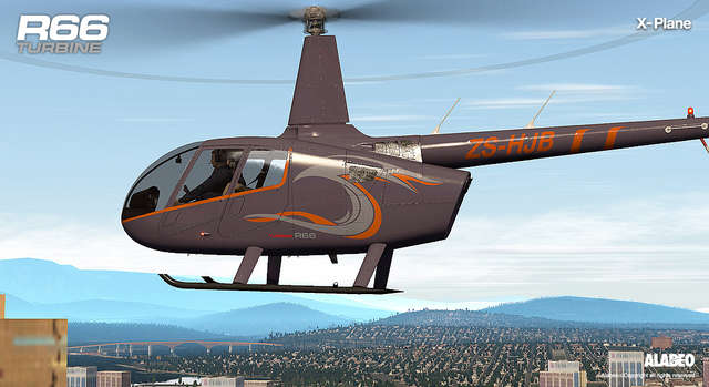 Just Flight - Alabeo R66 Turbine Helicopter (for X-Plane)
