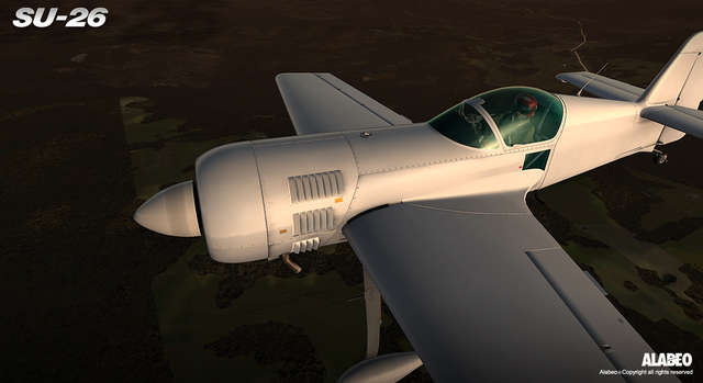 ESD Alabeo Sukhoi SU-26 for X-Plane