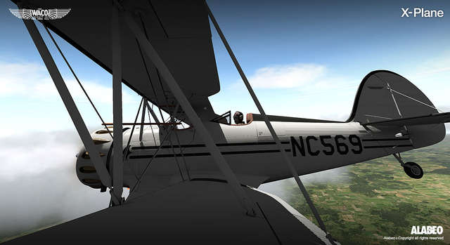 Alabeo Waco YMF-5 for X-Plane