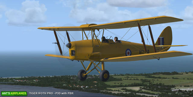 Ant's Airplanes - Tiger Moth Pro