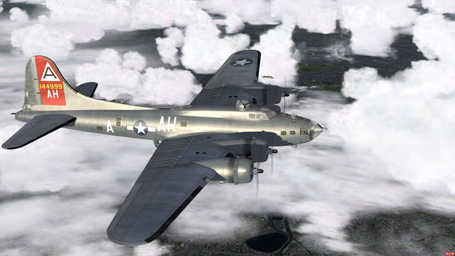 B-17-Flying Fortress