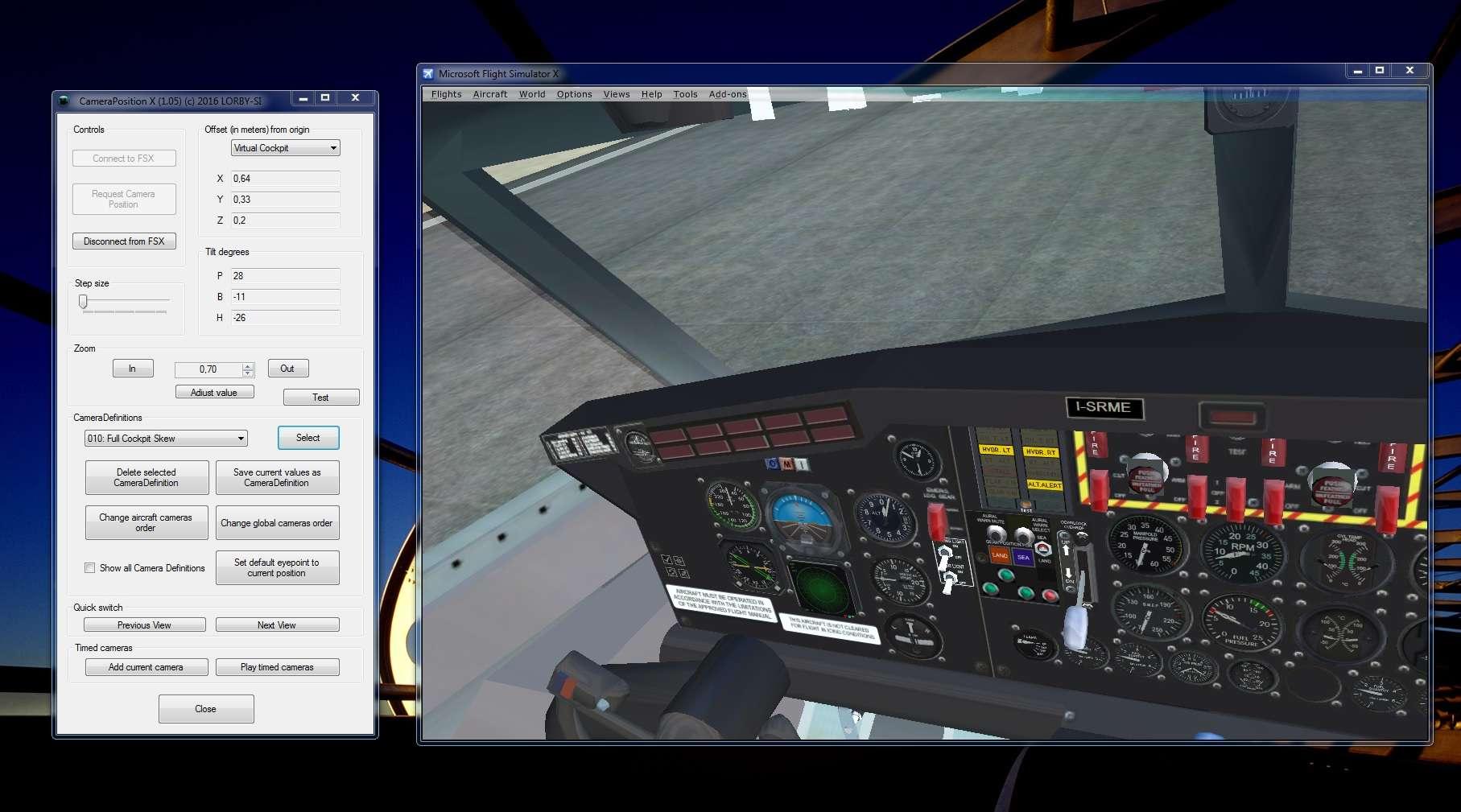 CameraPosition X - Just Flight