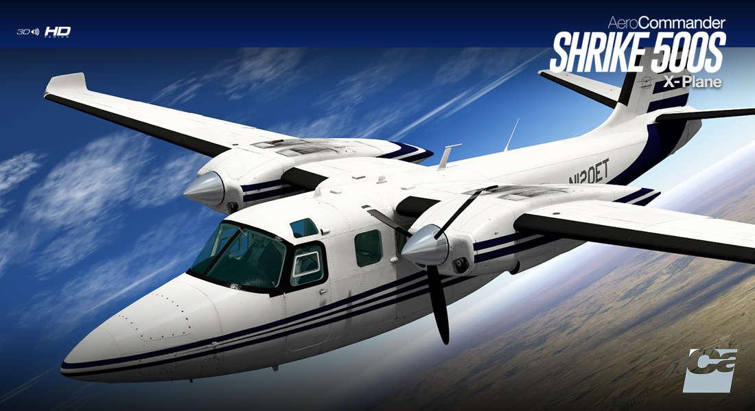 Just Flight - Carenado 500S Shrike Aero Commander HD Series