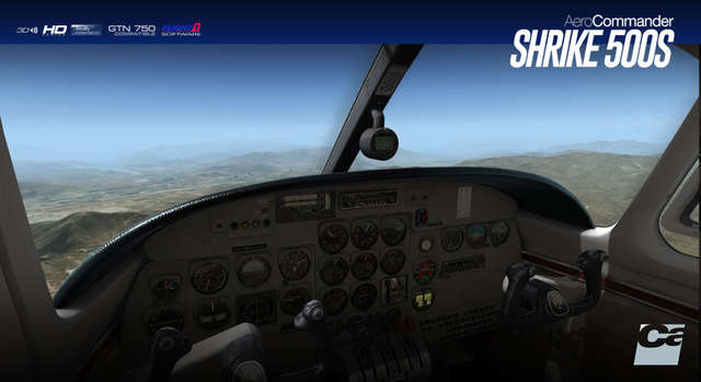 Carenado 500S Shrike Aero Commander HD Series (for FSX & P3D)
