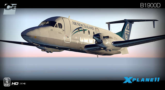 Carenado B1900D HD Series (for X-Plane 11)