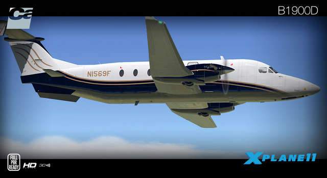 Carenado B1900D HD Series (for X-Plane)