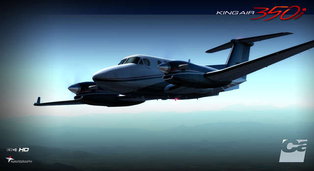 Carenado B350I King Air HD Series (for FSX & P3D)