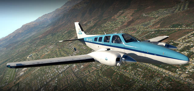 Carenado B58 Baron for X-Plane 11