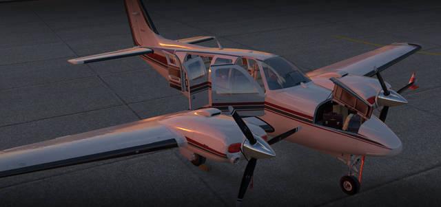 Just Flight - Carenado B58 Baron (for X-Plane 11)