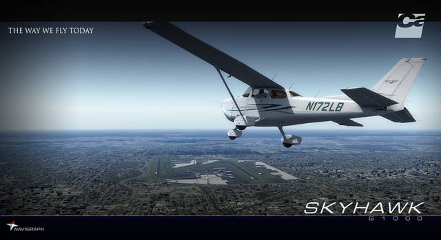 Carenado C172SP Skyhawk G1000 (for FSX & P3D)