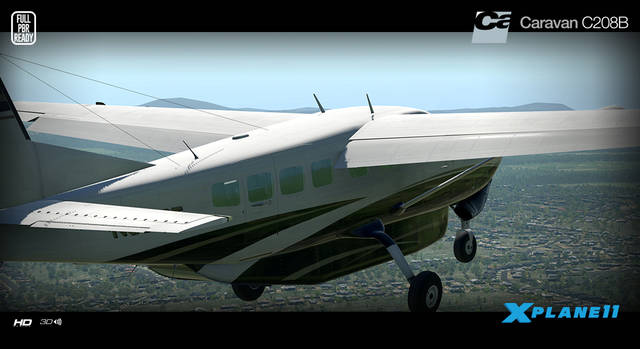 Carenado C208B Grand Caravan HD Series (for X-Plane 11)