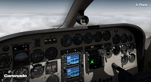 Carenado C340II HD for X-Plane