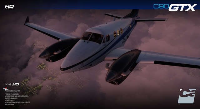 Carenado C90 GTX King Air HD Series