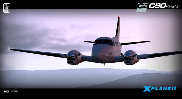 Carenado C90B King Air HD Series (for X-Plane 11)