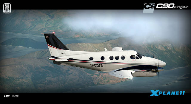 Just Flight - Carenado C90B King Air HD Series (for X-Plane 11)