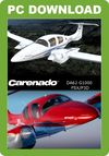 Carenado DA62 G1000 (for FSX & P3D)