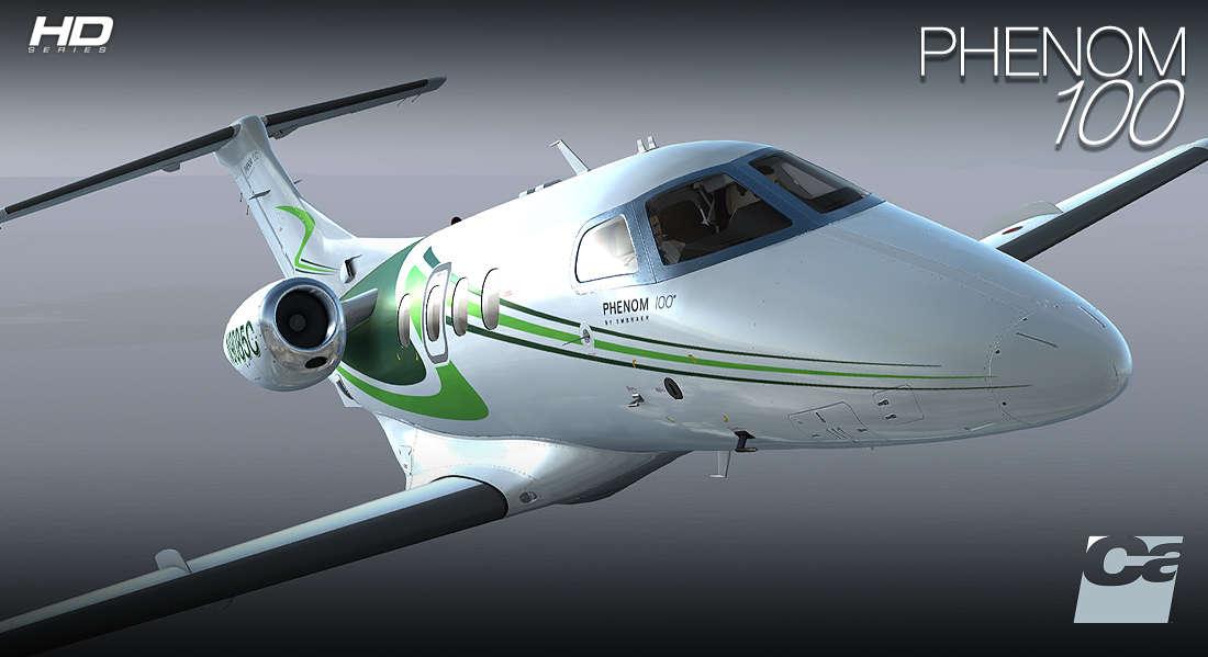 Learjet P3d