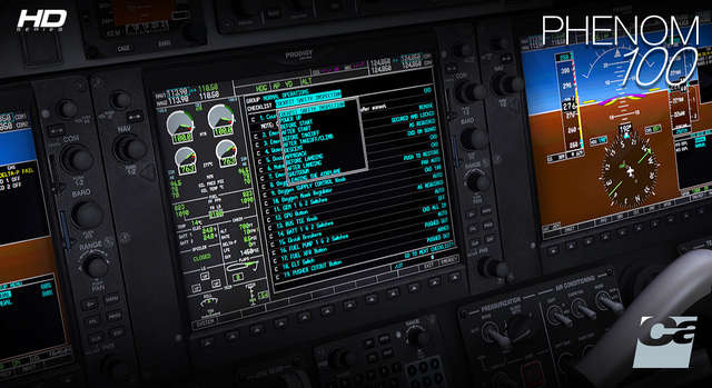 Carenado E50P Phenom 100 HD SERIES