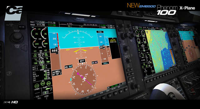 Carenado E50P Phenom 100 HD SERIES (for X-Plane)