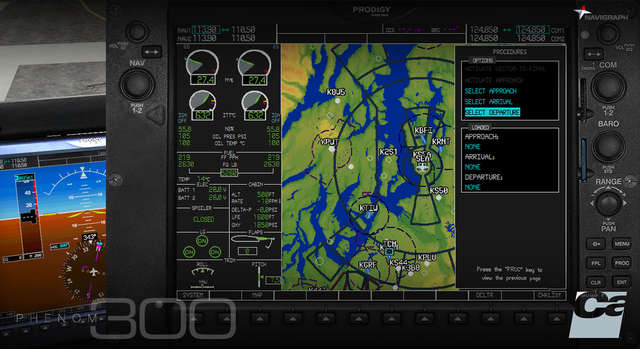 Carenado EMB505 Phenom 300 - Navigraph Expansion Pack