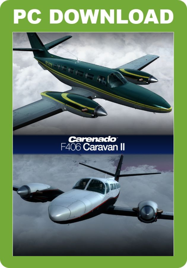 Just Flight - Carenado F406 Caravan II HD Series (for FSX & P3D)