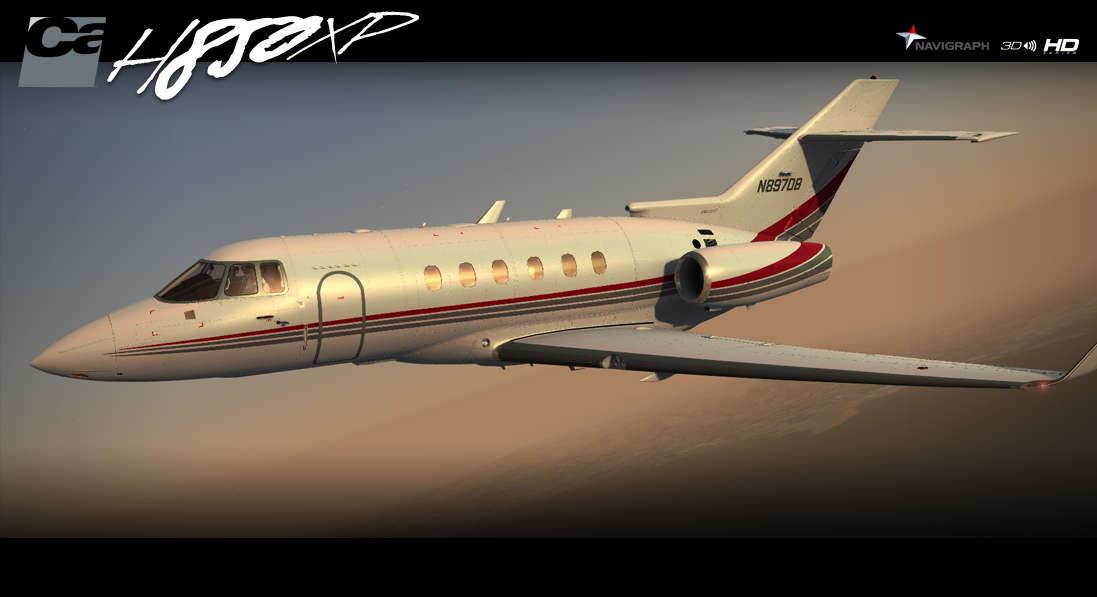 Just Flight - Carenado H25B H850XP HD Series (for FSX & P3D)