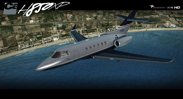 Carenado H25B H850XP HD FSX/XP